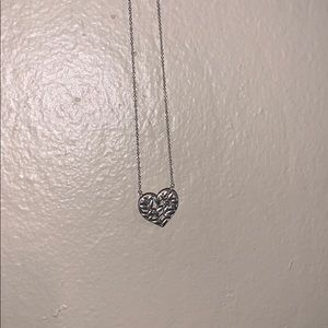 Tiffany & Co. Olive Leaf Heart Necklace